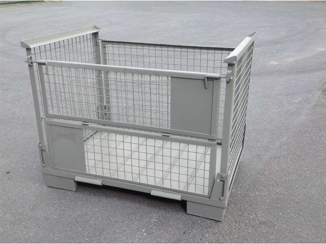 caisse palette metallique grillagee repliable cpm50rpm2