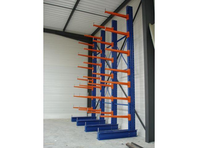cantilever lourd sur mesure pour stockage vertical