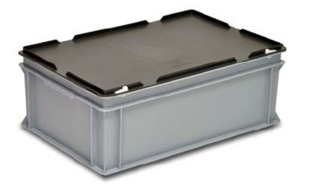 Bac Mallette Rako En Plastique Avec Couvercle 600 X 400 X 235 Mm 35 201 7 Contact Georg Utz Sarl