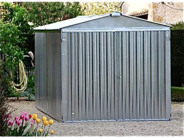 garage metal brut 5m acier galvanise id28