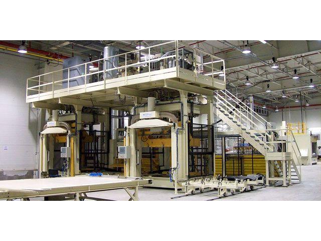 lignes de production automatisees pour pieces en mousse polyurethane moussage pur
