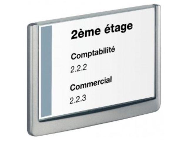 plaque de porte 210x148 5mm click sign