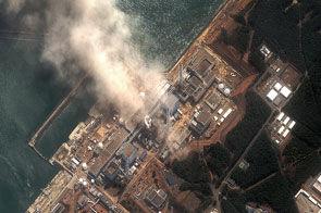 Centrale de Fukushima - Digital Globe