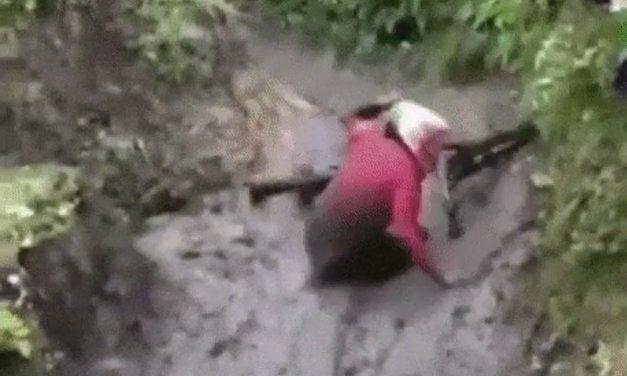 Mountainbike är roligt säger dom…