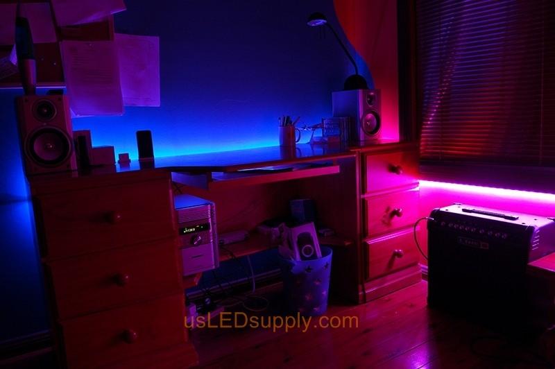 Color Changing Lights Room