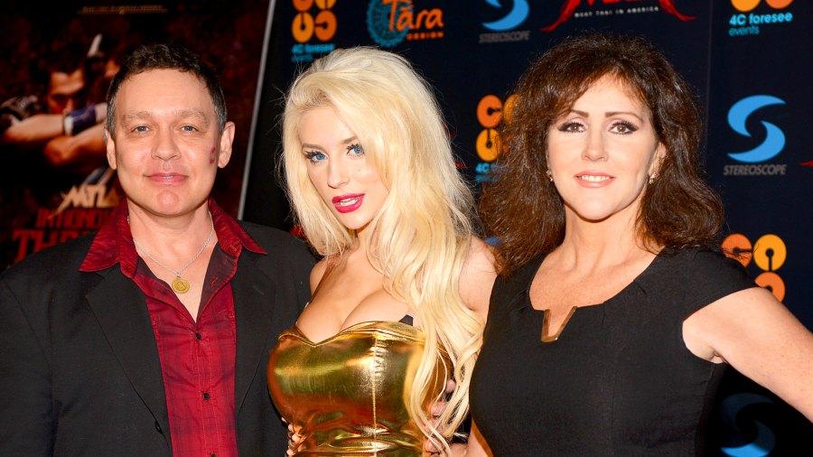 Doug Hutchison, Courtney Stodden and Krista Keller