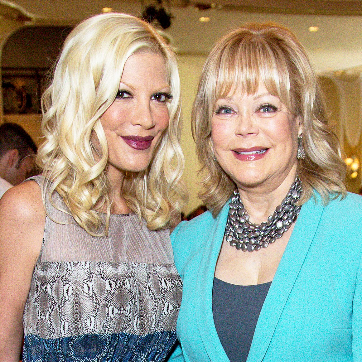 Tori Spelling and Candy Spelling