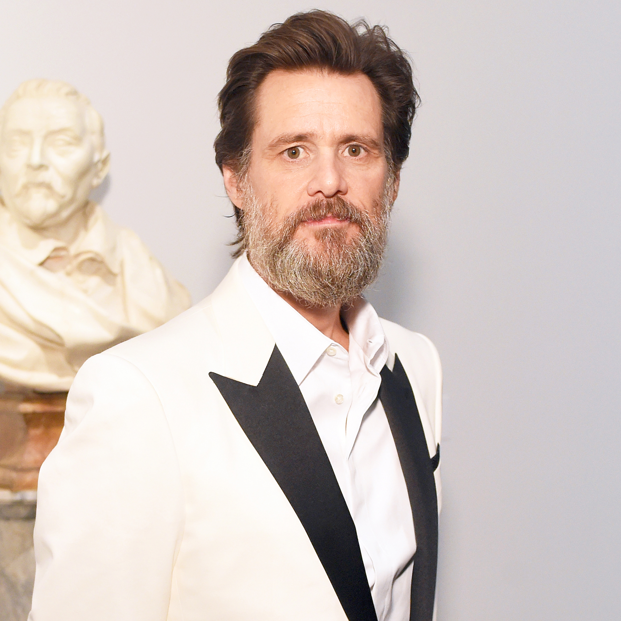 Jim Carrey attends LACMA's 50th Anniversary Gala sponsored by Christie's at LACMA on April 18, 2015 in Los Angeles, California.
