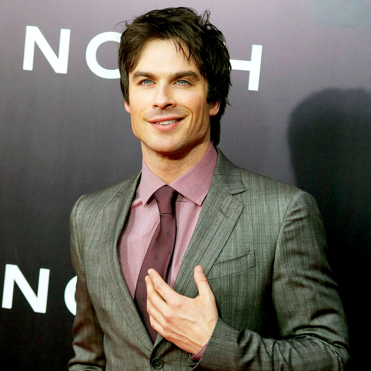 "Ian Somerhalder attends the ""Noah"" premiere at Ziegfeld Theatre on March 26, 2014 in New York City."