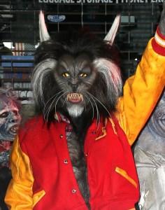 Heidi Klum Teen Wolf Halloween