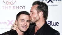 Colton Haynes Jeff Leatham