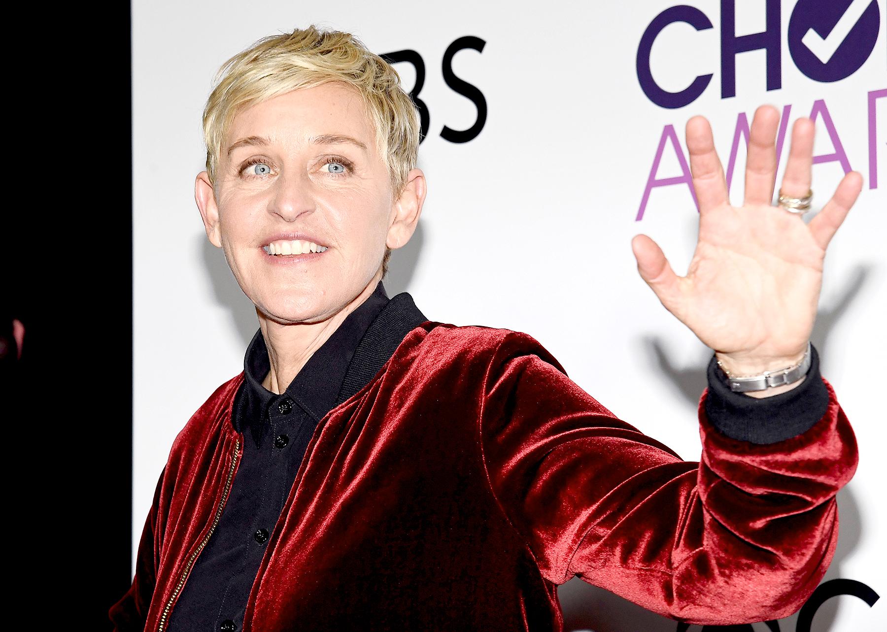 Ellen Degeneres social media
