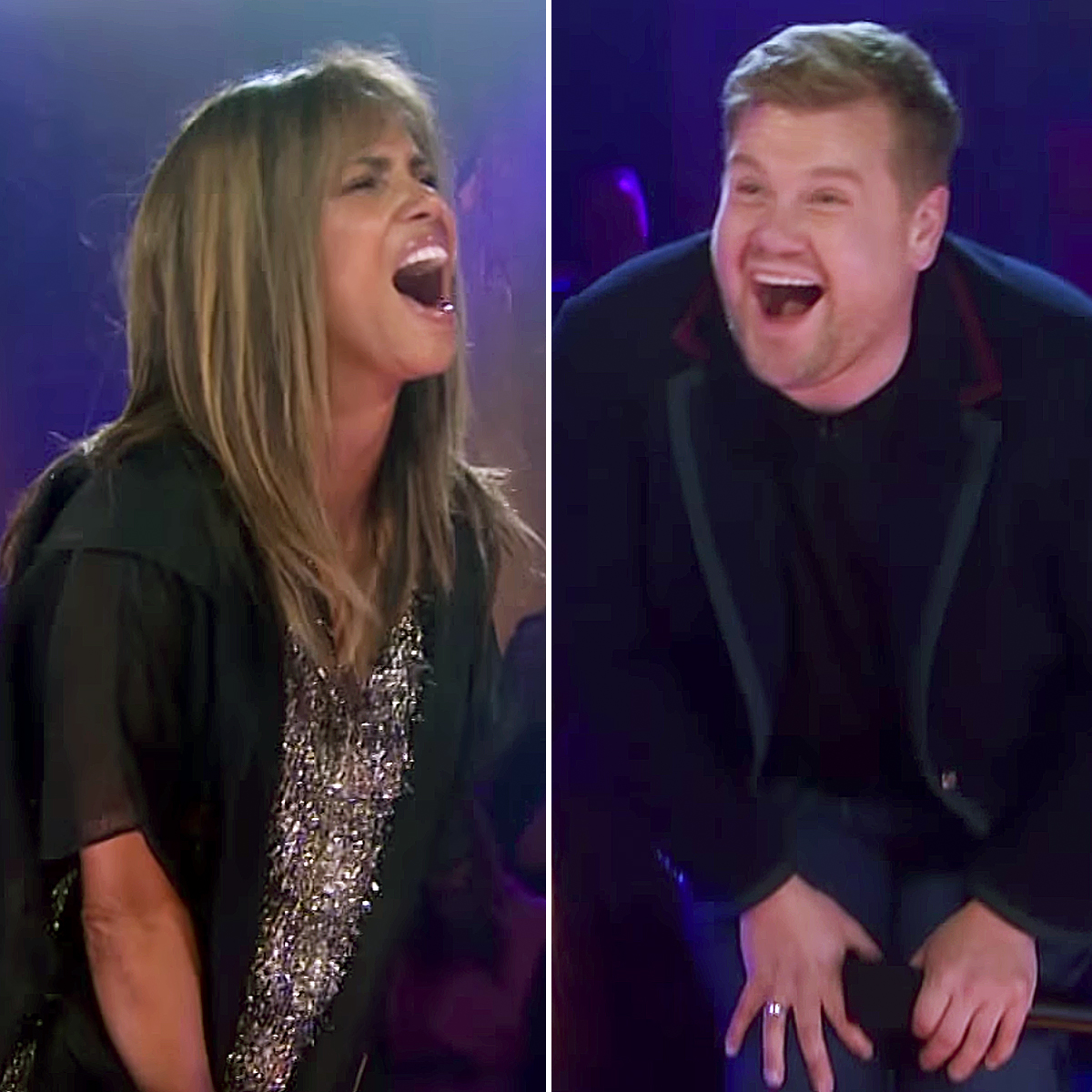 Halle Berry James Corden rap battle Drop The Mic