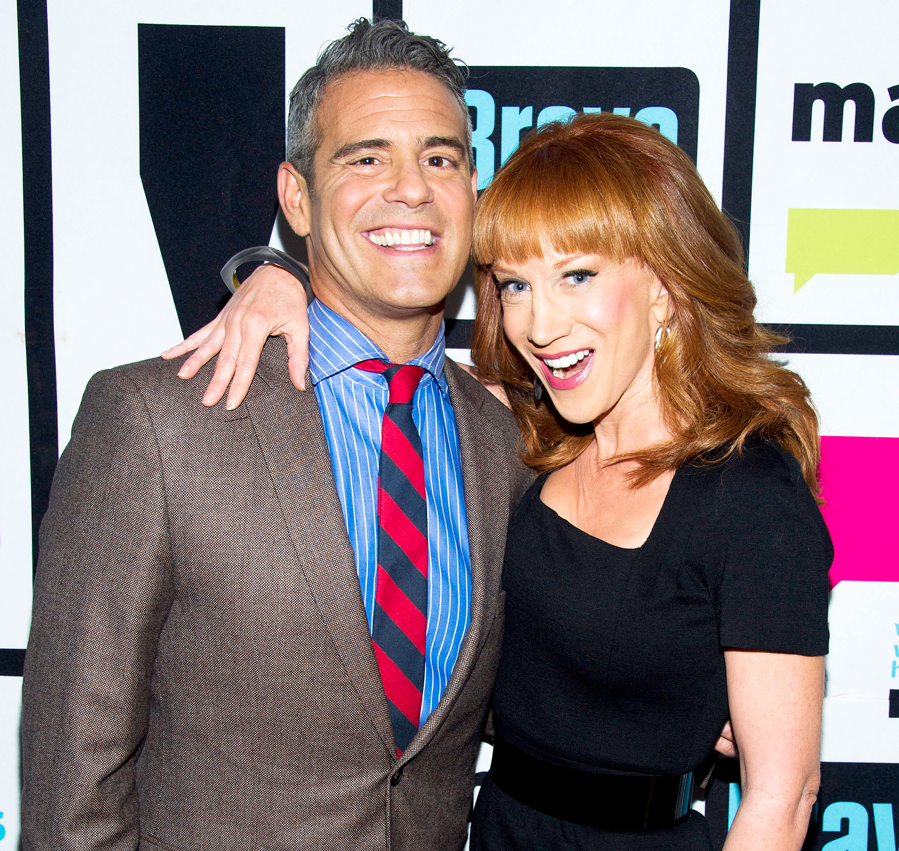 Kathy Griffin Claims 'WWHL' Host Andy Cohen Offered Her Cocaine