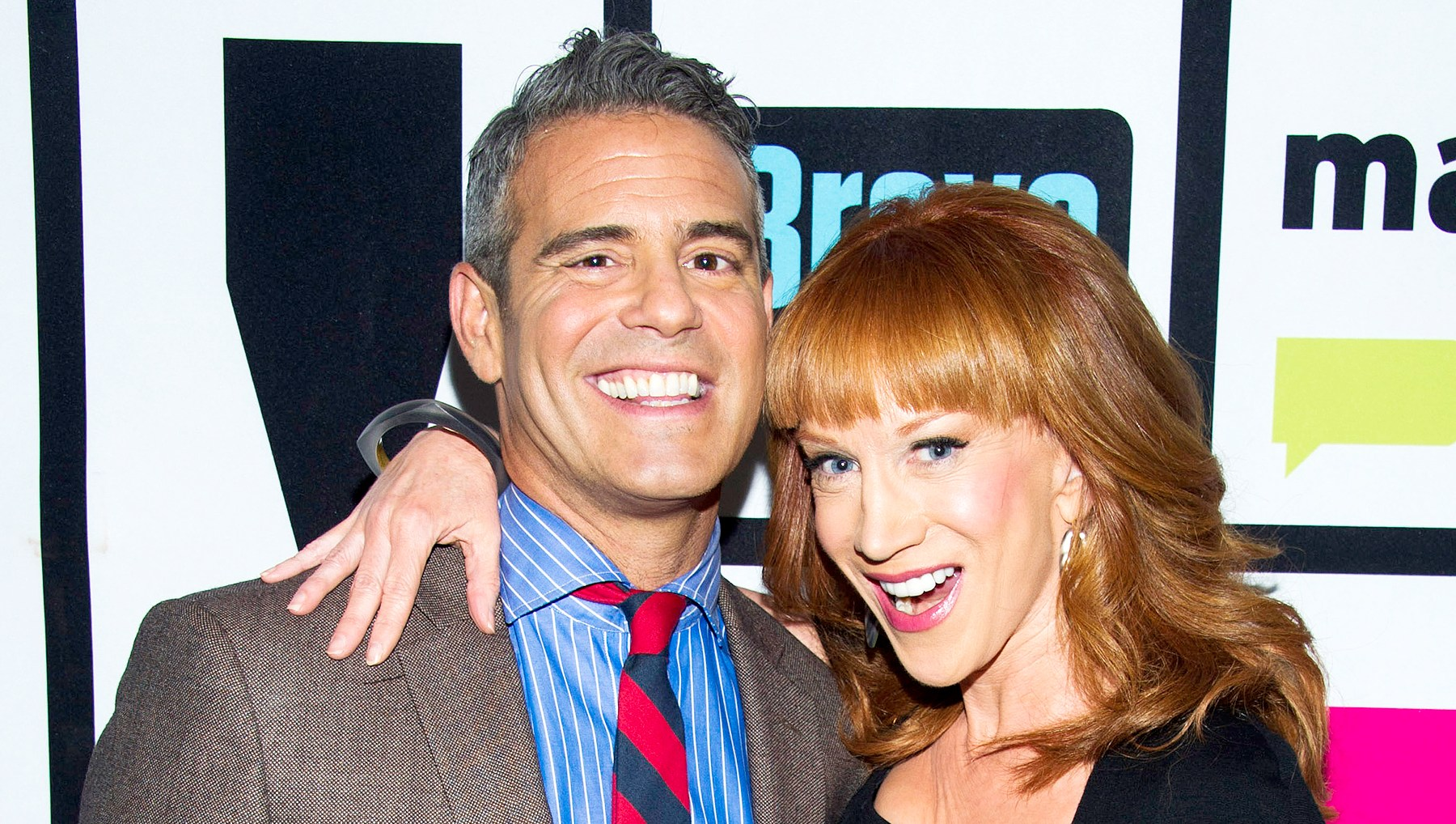 Andy Cohen and Kathy Griffin feud