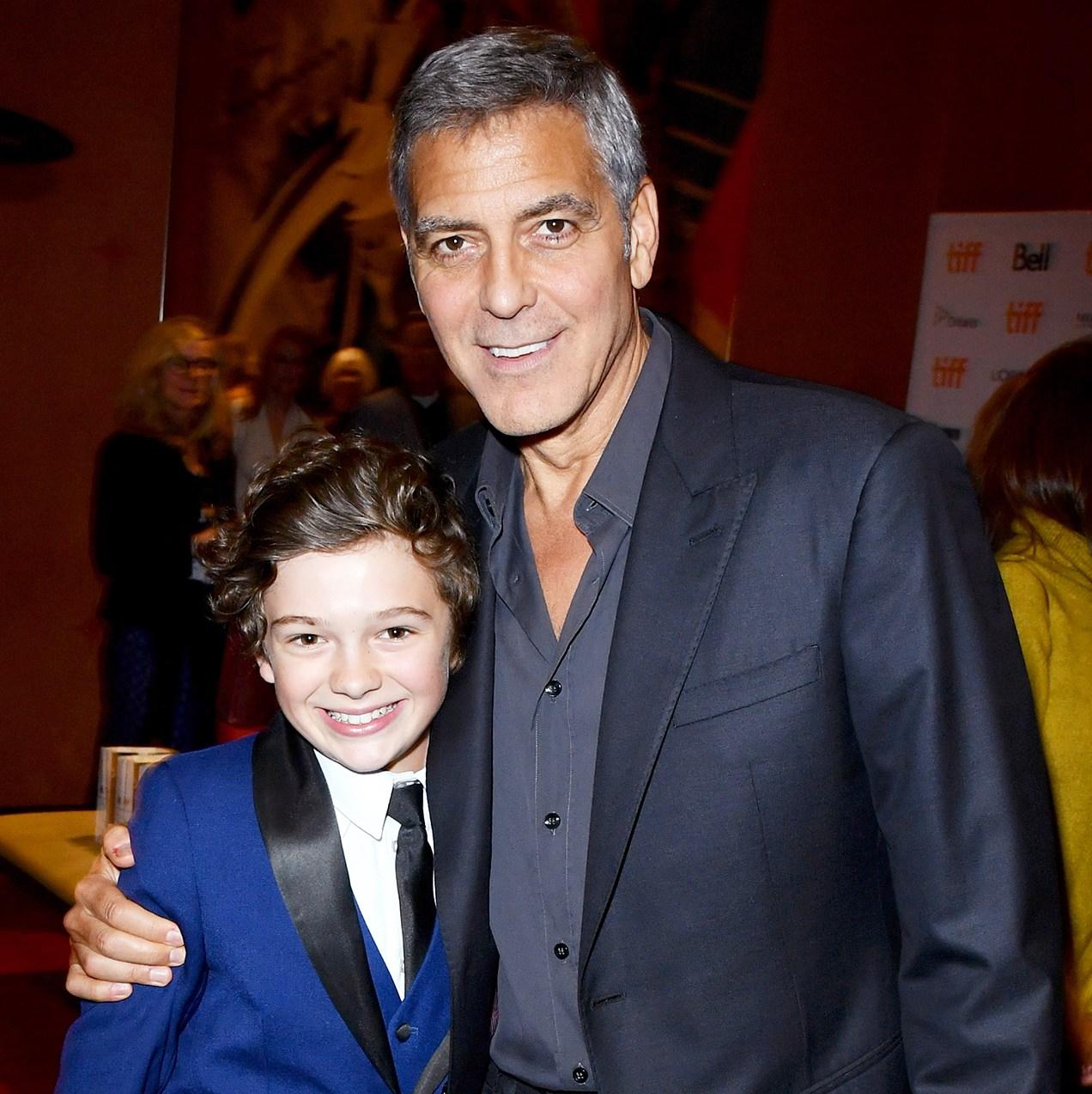 Noah Jupe George Clooney