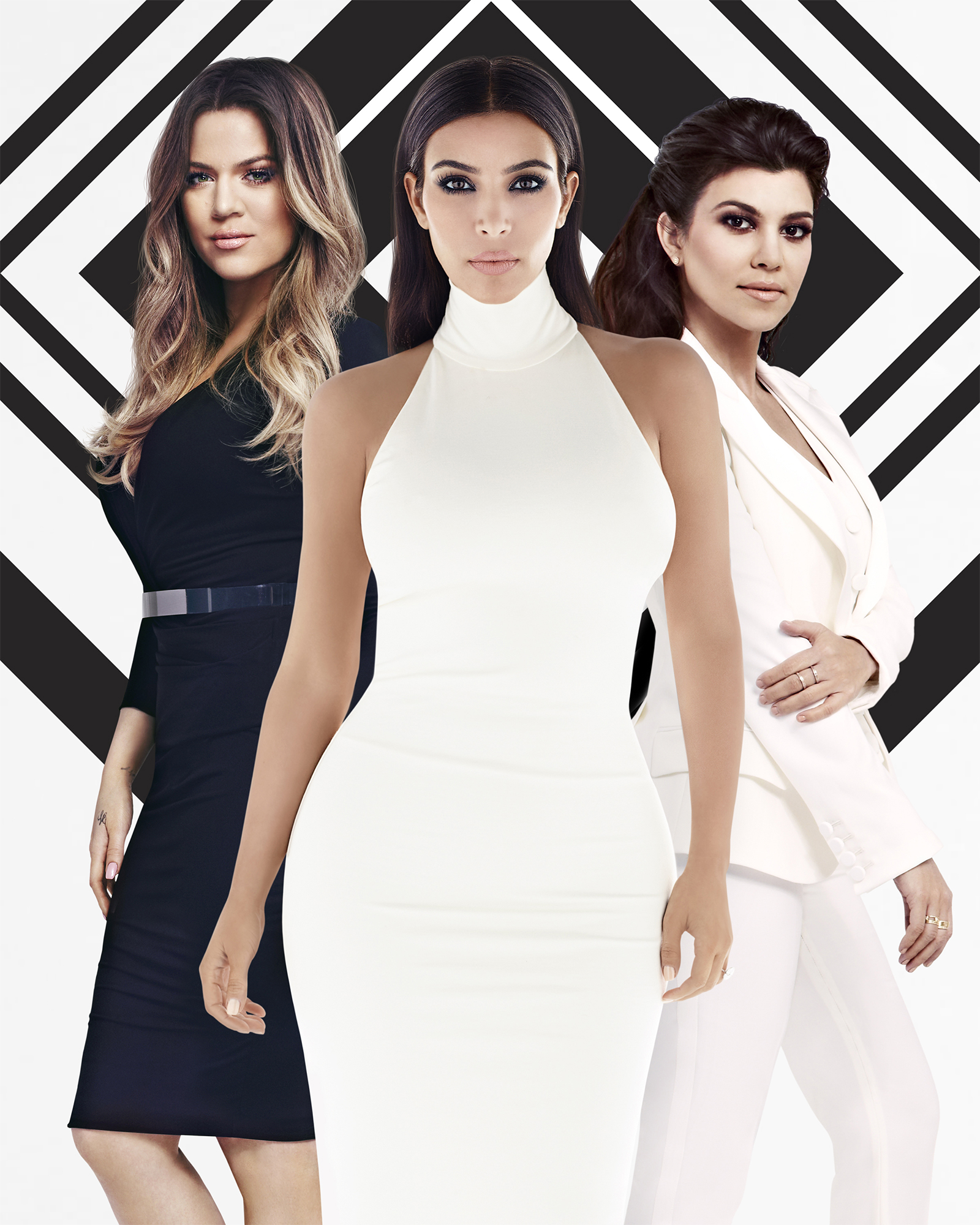 Kourtney and Kim Kardashian 'hide' Khloe's 'baby bump'