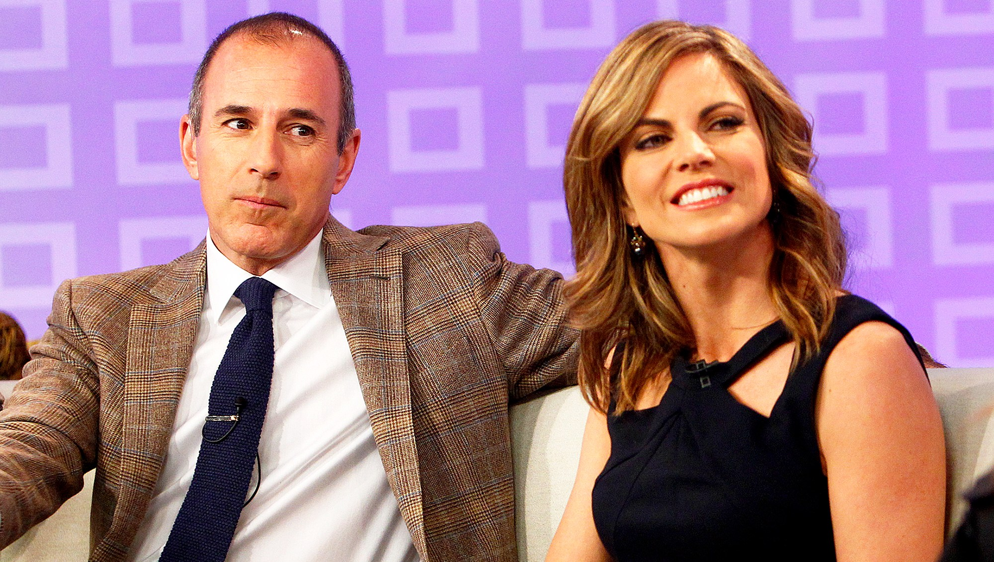 Matt Lauer and Natalie Morales on 'Today' show