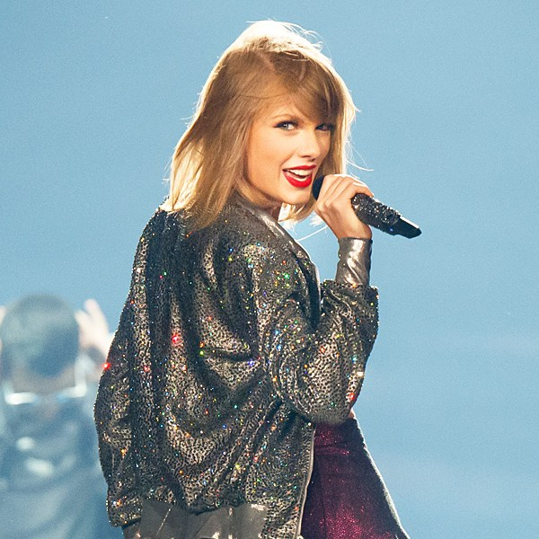 Taylor Swift performs on stage for the 1989 World Tour at CenturyLink Center in Bossier City, Louisiana.
