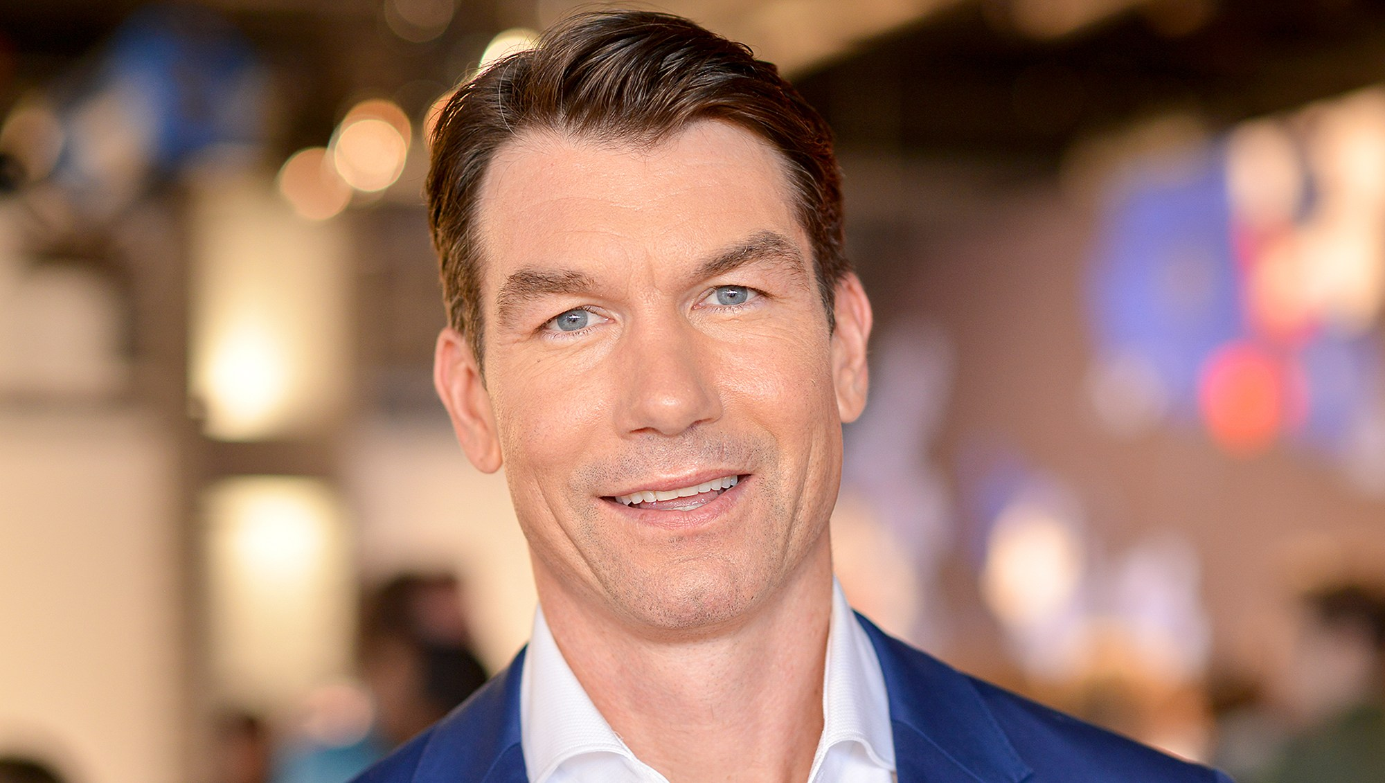 Jerry O'Connell attends Tommy Hilfiger presentation during New York Fashion Week: Men's S/S 2017 at Skylight 60 Tenth in New York City.