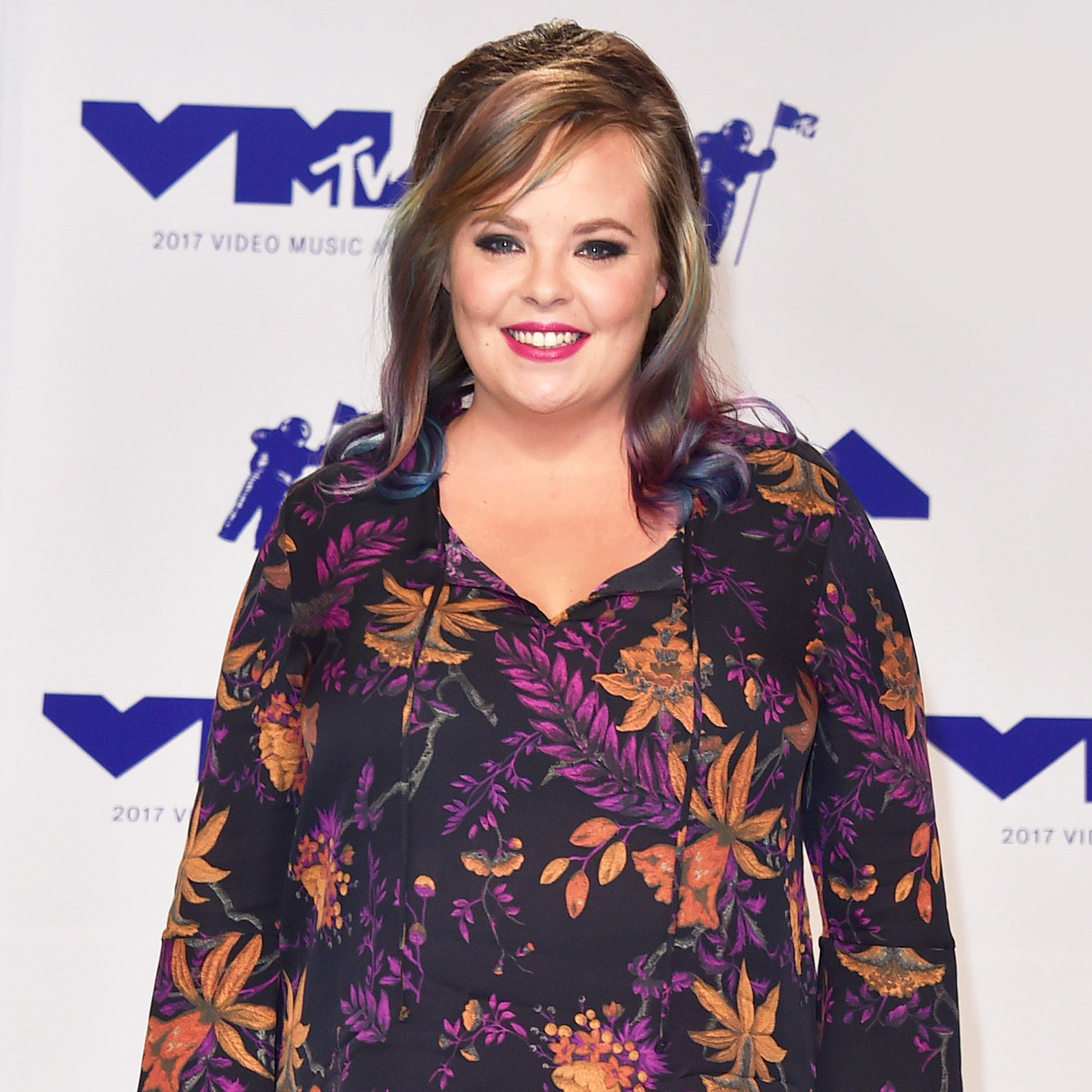 Catelynn Lowell attends the 2017 MTV Video Music Awards at The Forum in Inglewood, California.