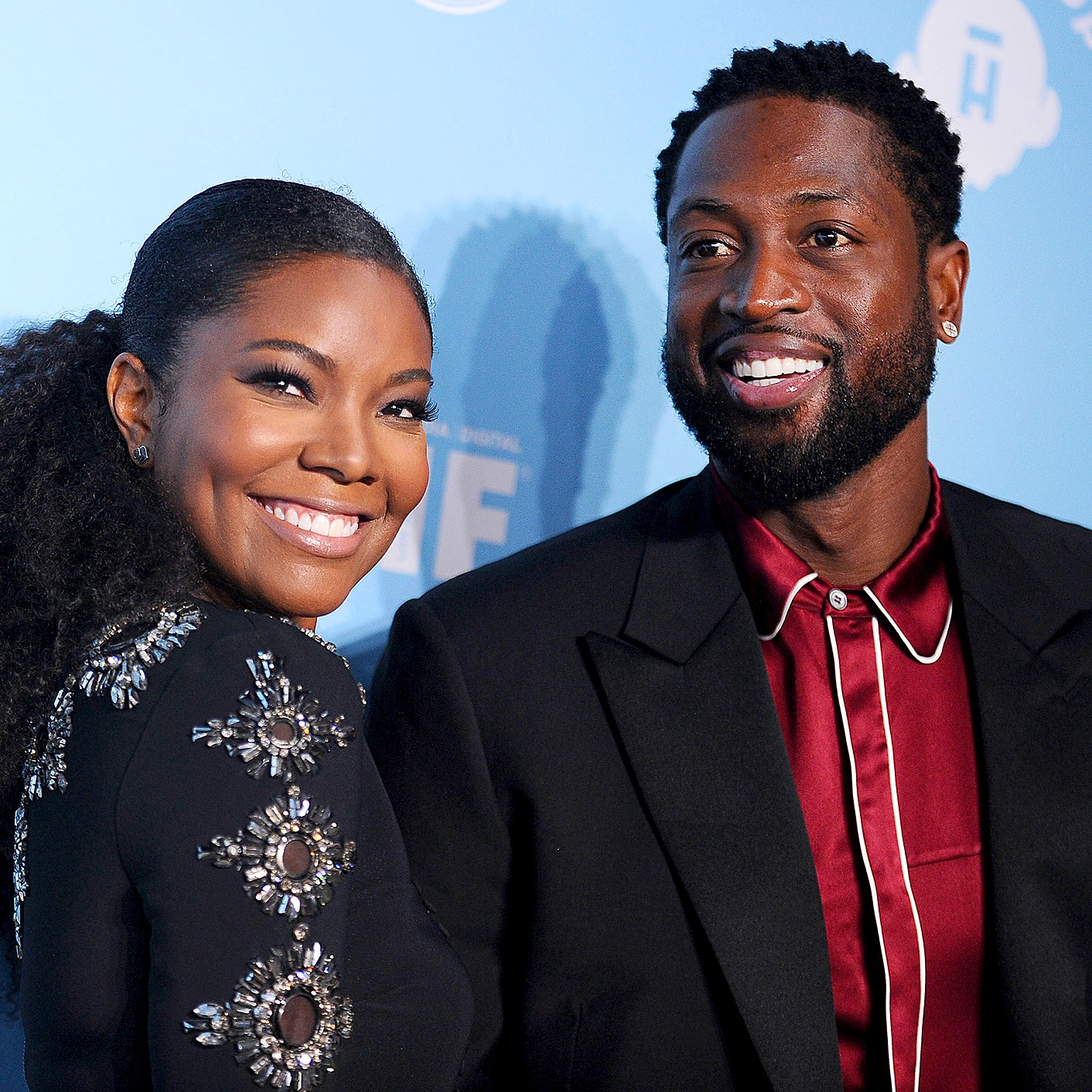 Gabrielle Union and Dwyane Wade attend Variety and Women in Film's 2017 pre-Emmy celebration at Gracias Madre on September 15, 2017.