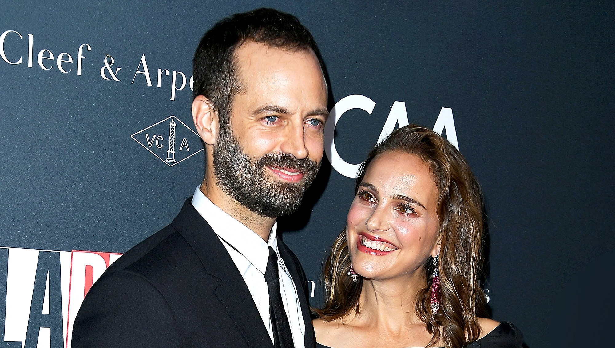 Benjamin Millepied and Natalie Portman arrives at the L.A. Dance Project's Annual Gala at L.A. Dance Project on October 7, 2017 in Los Angeles, California.