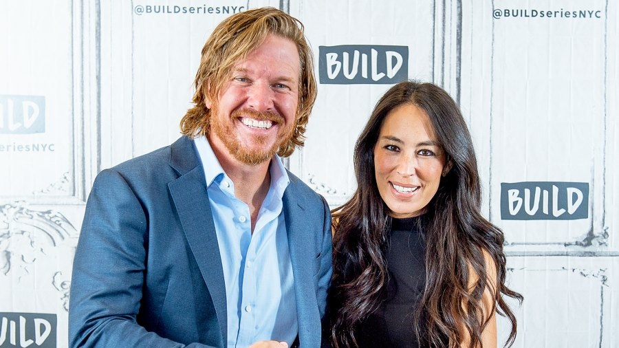 Chip and Joanna Gaines visit the Build Series at Build Studio on October 18, 2017 in New York City.