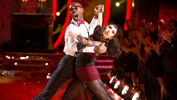 Cheryl Burke and Terrell Owens performing on 'Dancing With The Stars'