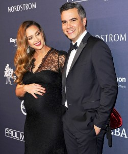 Jessica Alba and husband Cash Warren attend the 2017 Baby2Baby Gala at 3LABS on November 11, 2017 in Culver City, California.