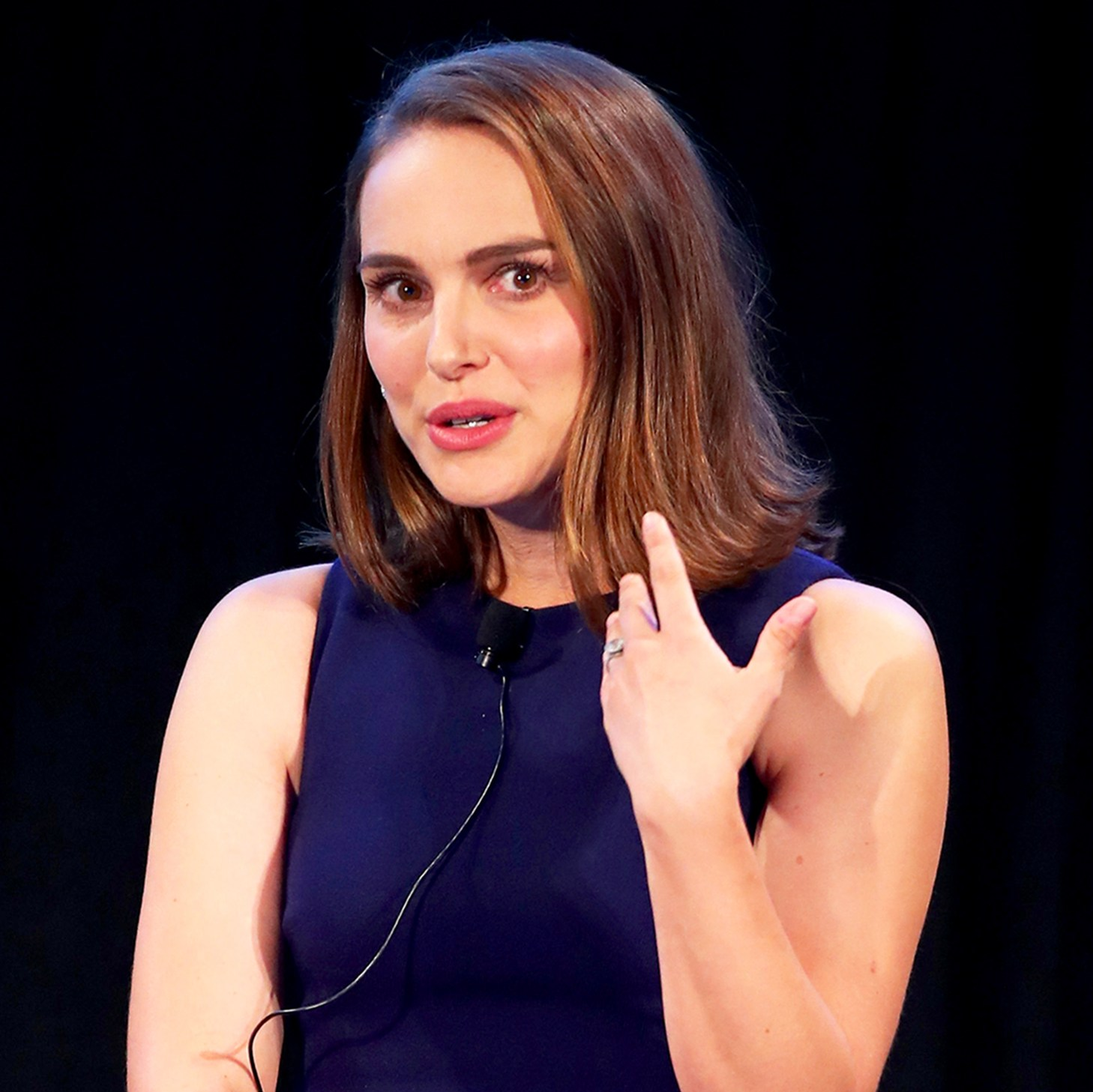 Natalie Portman onstage during Vulture Festival LA presented by AT&T at Hollywood Roosevelt Hotel on November 19, 2017 in Hollywood, California.
