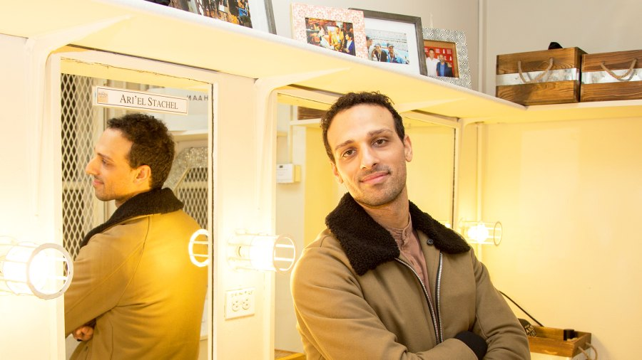 Broadway Star Ari El Stachel From The Band S Visit Gets A New Dressing Room Plus Other Celeb Sightings Us Weekly