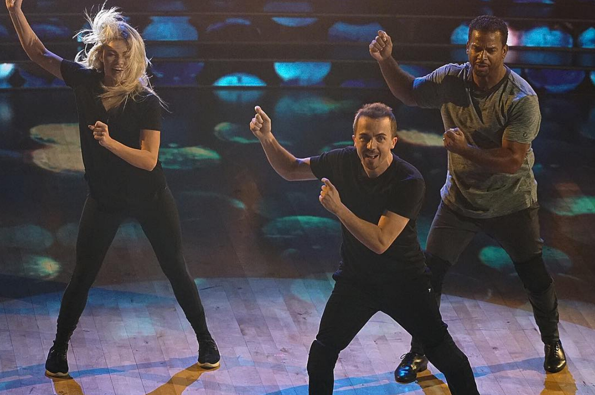 James dancing with the stars hookup