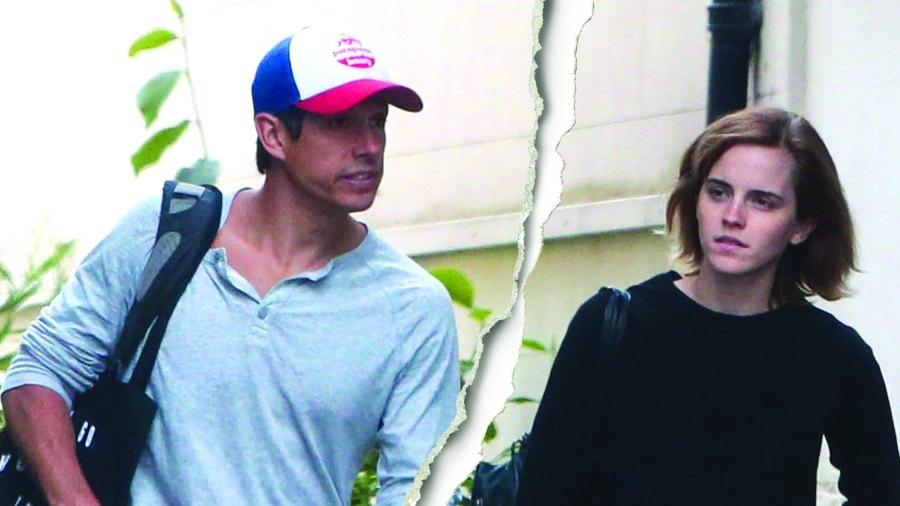 "Emma Watson with William ""Mack"" Knight"