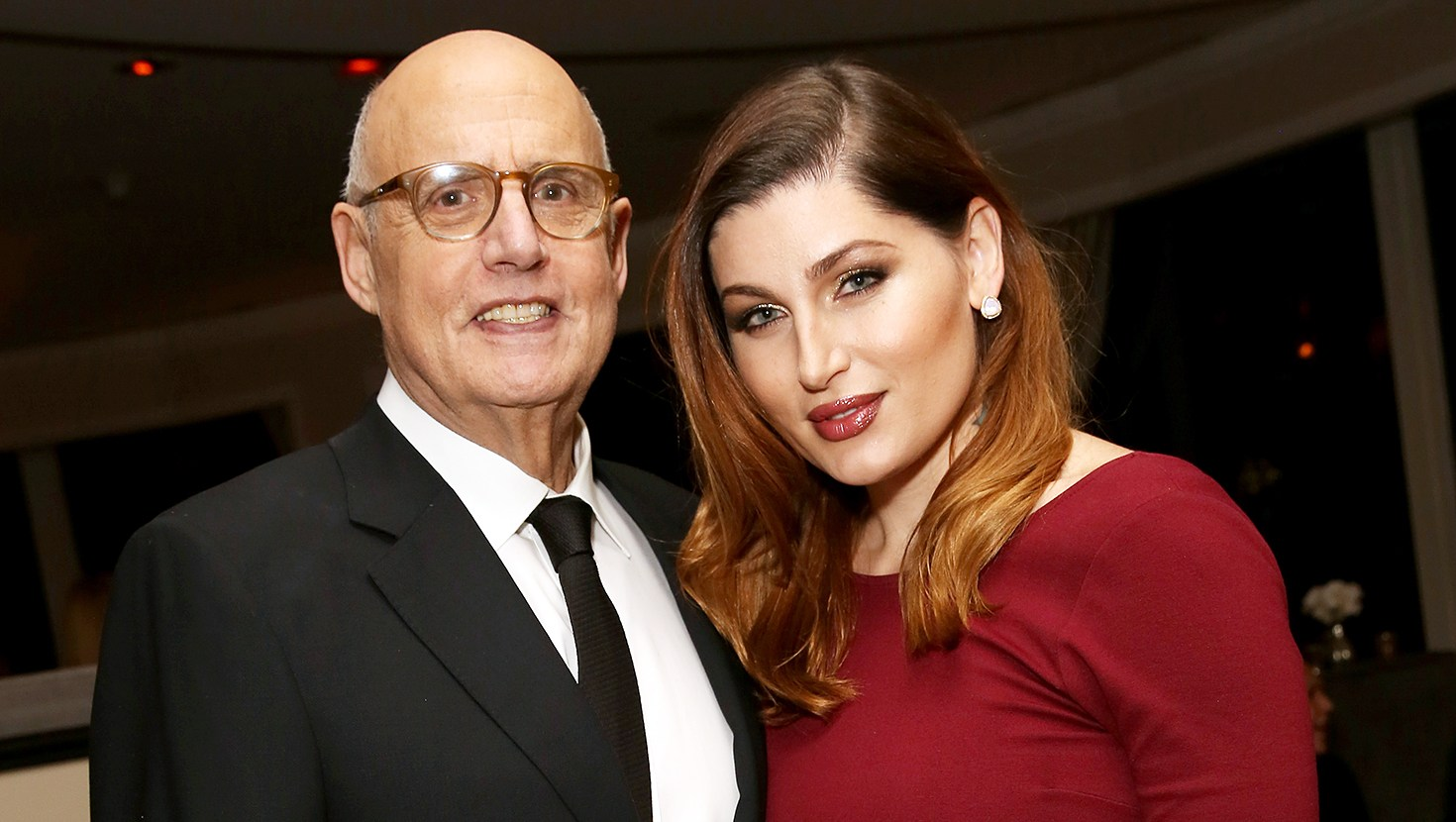 Jeffrey Tambor Trace Lysette Amazon's Golden Globe Awards Celebration