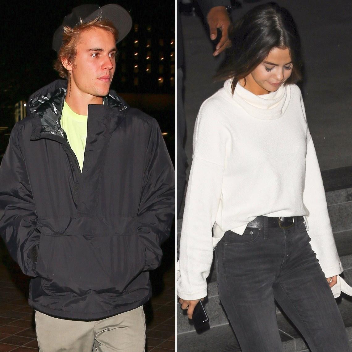 Justin Bieber, Selena Gomez, Dinner Date