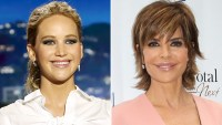 Lisa Rinna, Jennifer Lawrence, Meet, Dinner
