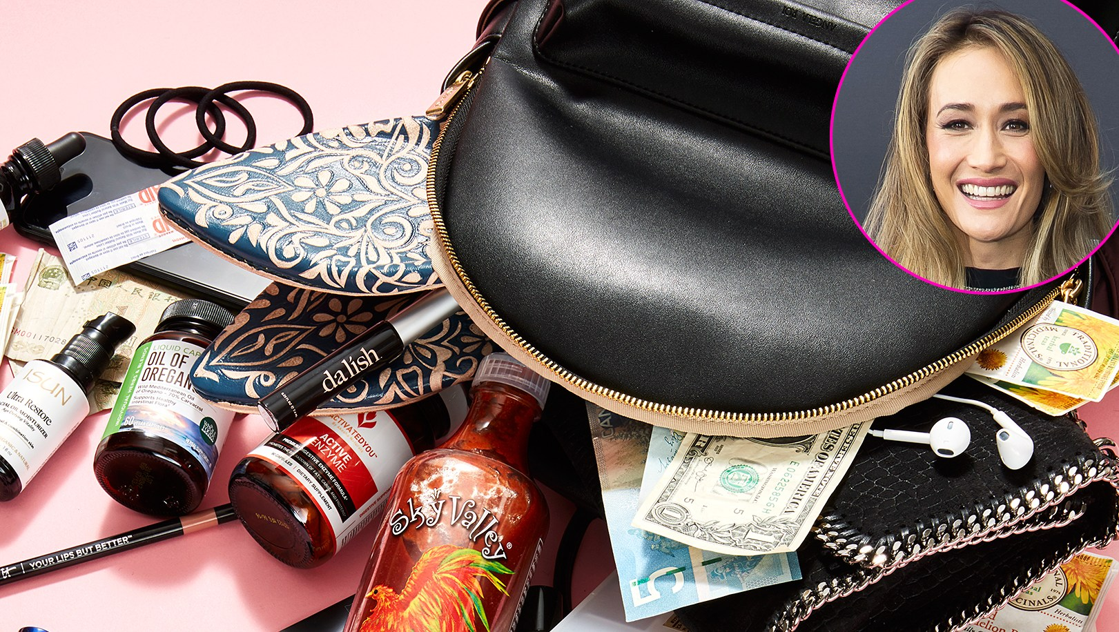 Maggie Q What's In My Bag