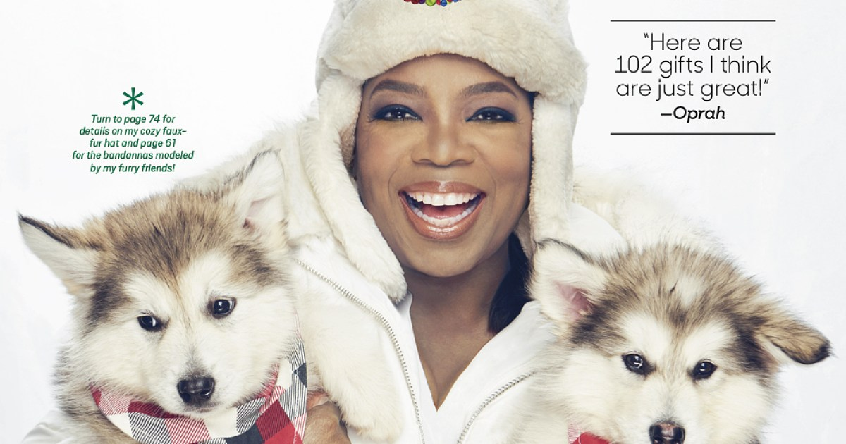 9c9787a6435 Oprah s Favorite Things 2017 Is Her Longest Holiday Gift List