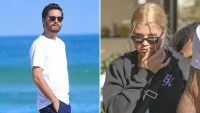 Scott Disick, Sofia Richie, Miami, Los Angeles, Thanksgiving