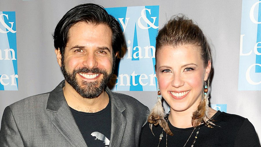 Jodie Sweetin and Morty Coyle attend L.A. Gay & Lesbian Center's 'An Evening With Women' at The Beverly Hilton hotel on April 16, 2011 in Beverly Hills, California.