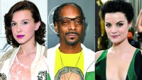 Millie Bobby Brown, Snoop Dogg and Jaimie Alexander
