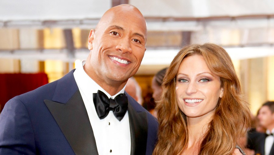 Dwayne 'The Rock' Johnson and Lauren Hashian attend the 87th Annual Academy Awards at Hollywood & Highland Center in Hollywood, California.