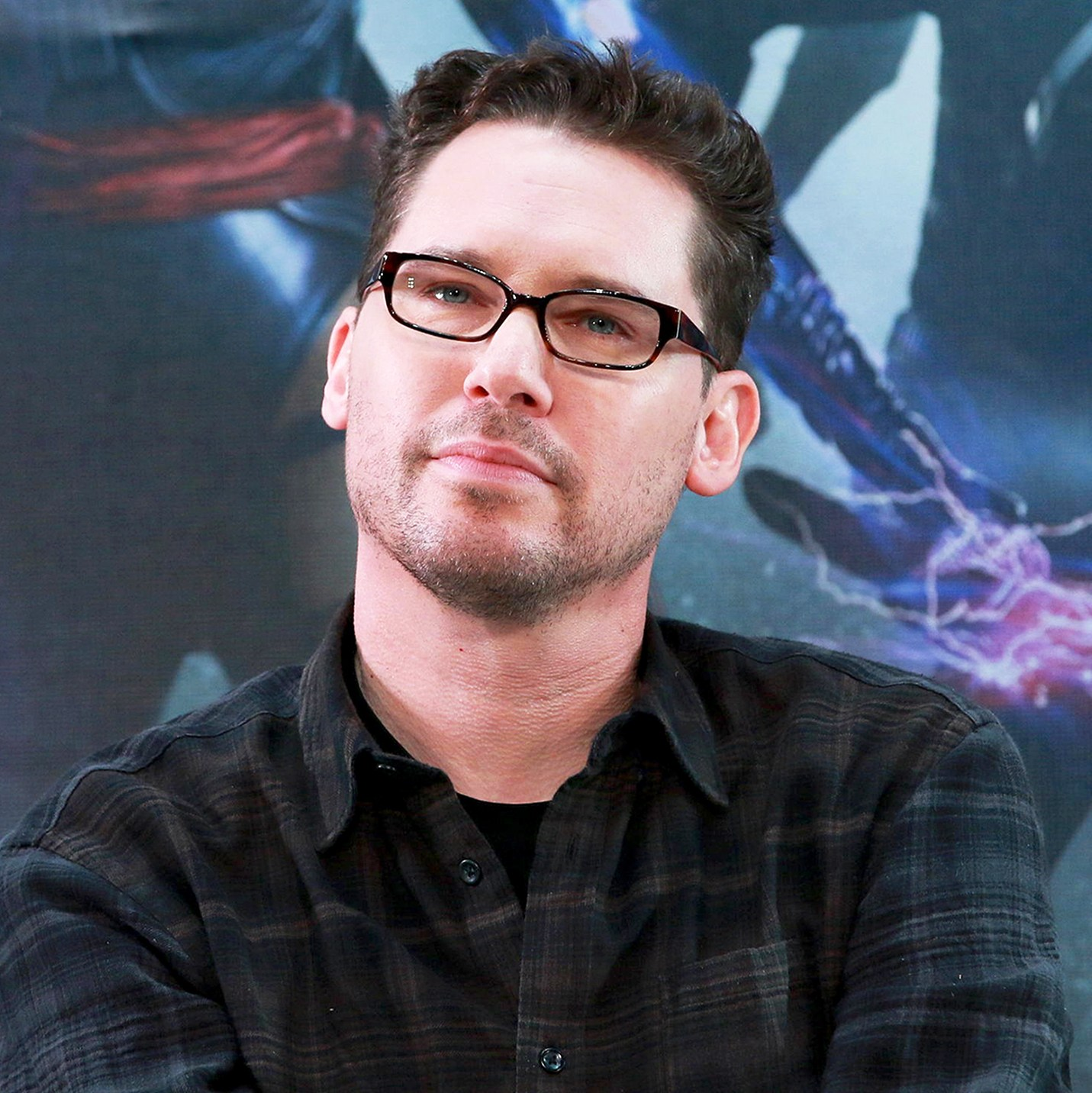 """Bryan Singer attends Tsinghua campus visit for new movie """"X-Men: Apocalypse"""" on May 18, 2016 in Beijing, China."""