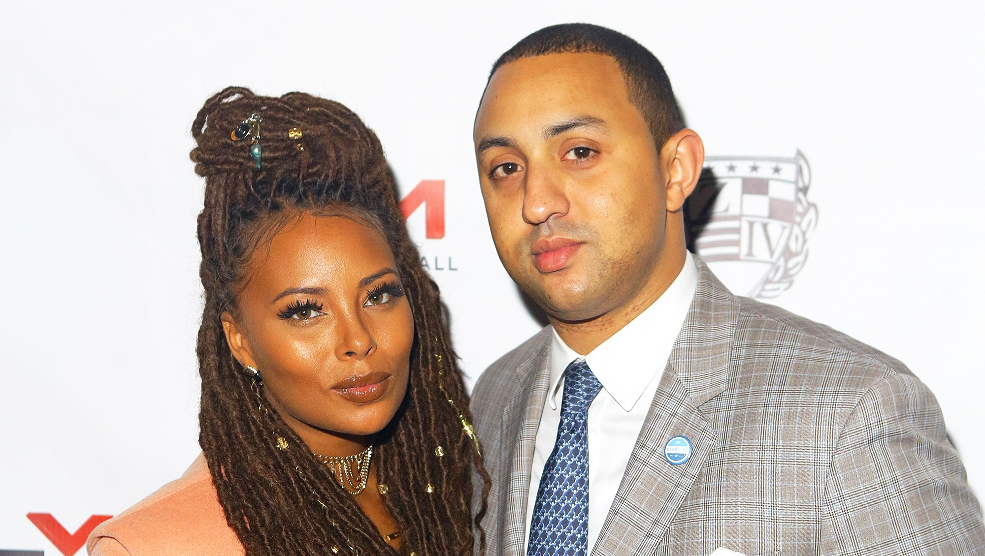 Eva Marcille and Michael Sterling attend the 9th Annual Celebration 4 Cause at King Plow Arts Center in Atlanta on December 22, 2016.
