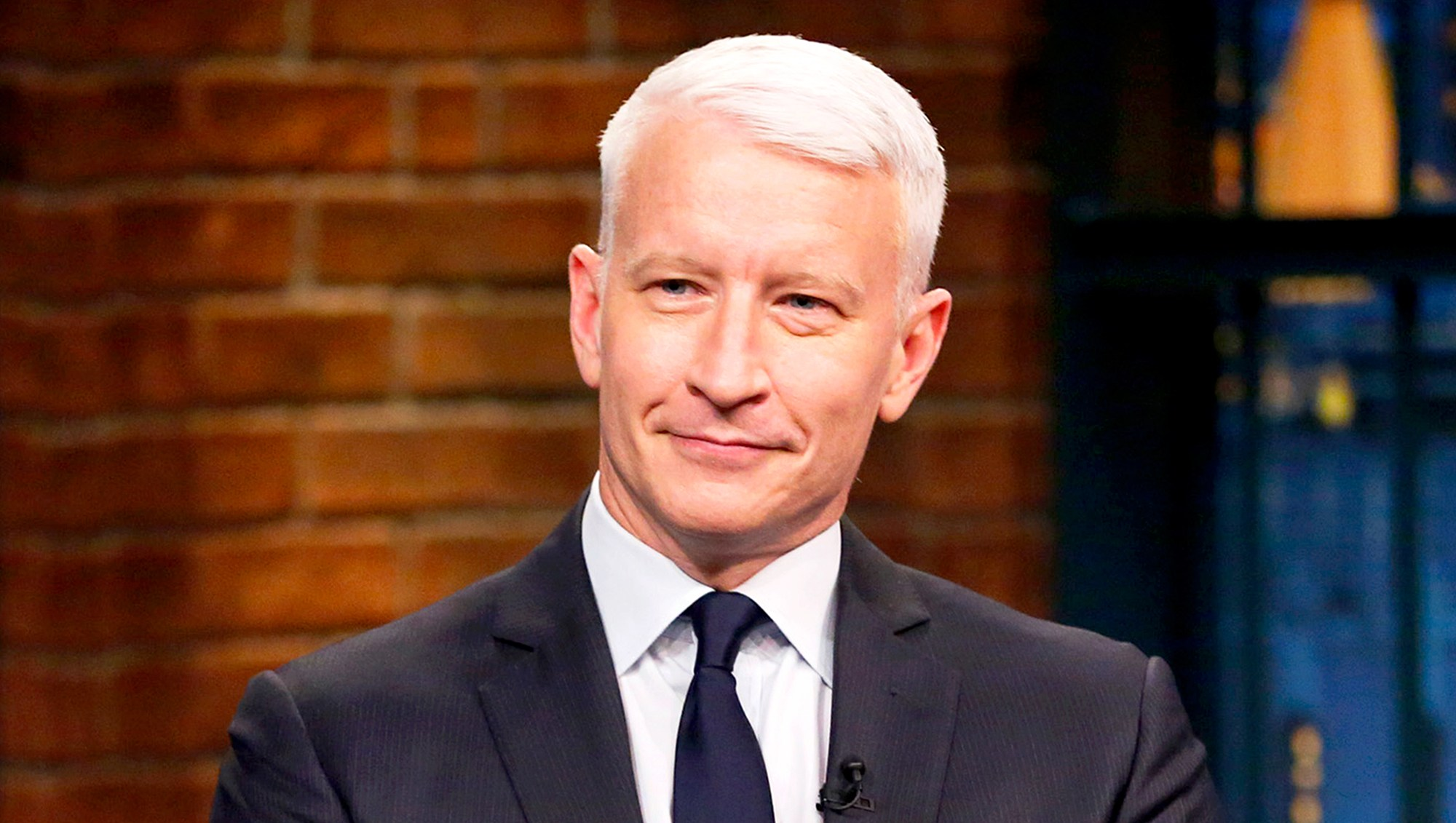 Anderson Cooper on 'Late Night with Seth Meyers'
