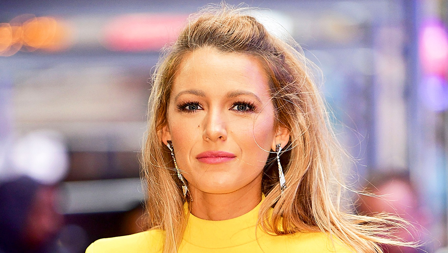 Blake Lively arrives to 'Good Morning America' in New York City.
