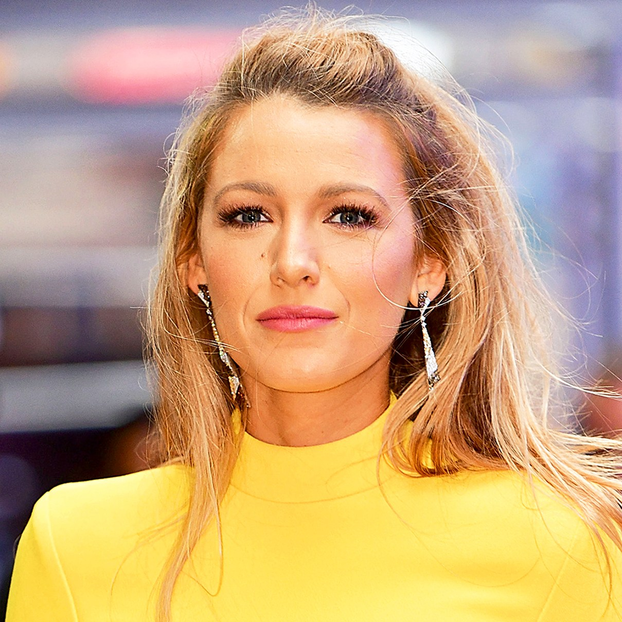 Blake Lively arrives to 'Good Morning America' in New York City.