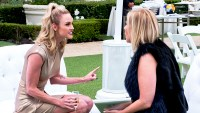 Meghan King Edmonds and Vicki Gunvalson on 'The Real Housewives of Orange County'
