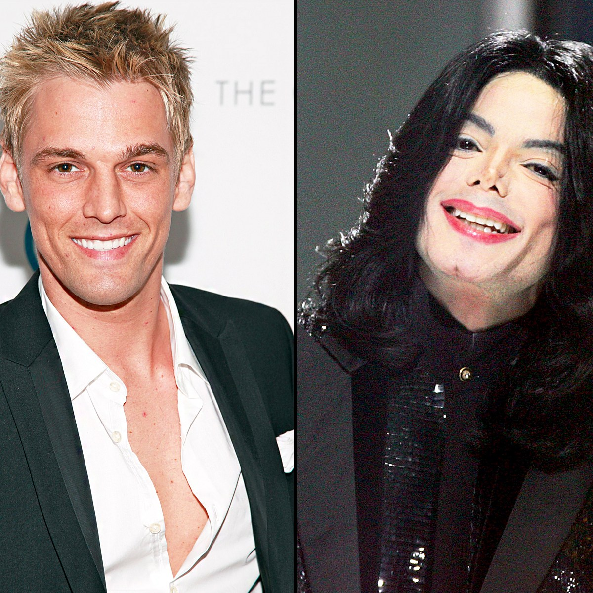 Aaron Carter and Michael Jackson